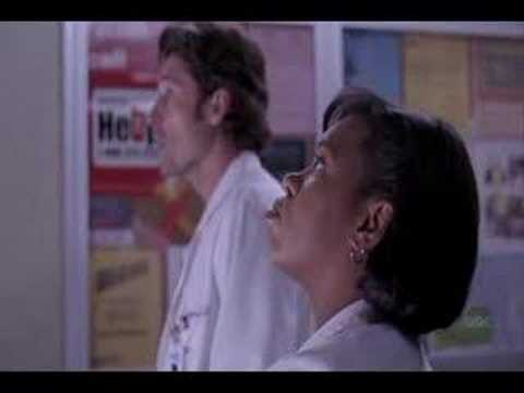 Grey's Anatomy - Derek and Miranda in the elevator