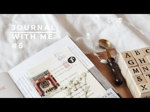happy mail + journal with me no.6 🌹 thumbnail