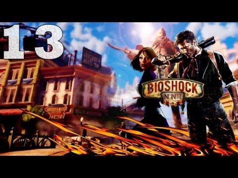Смотреть прохождение игры Bioshock Infinite. Серия 13 - А ты не плохо поешь, Элизабет. [Art let's play]