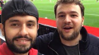 Southampton v Burnley maçındaydık. Burnleyli taraftarlarla Başakşehir'i konuştuk.