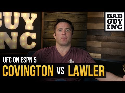 Colby Covington vs Robbie Lawler: What's going on at welterweight?