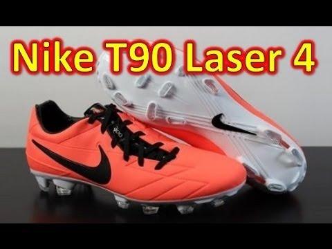 744f0ece18ea Nike T90 Laser 4 ACC Bright Mango - Unboxing + On Feet - YouTube