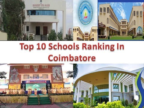 Top 10 Schools Ranking In Coimbatore