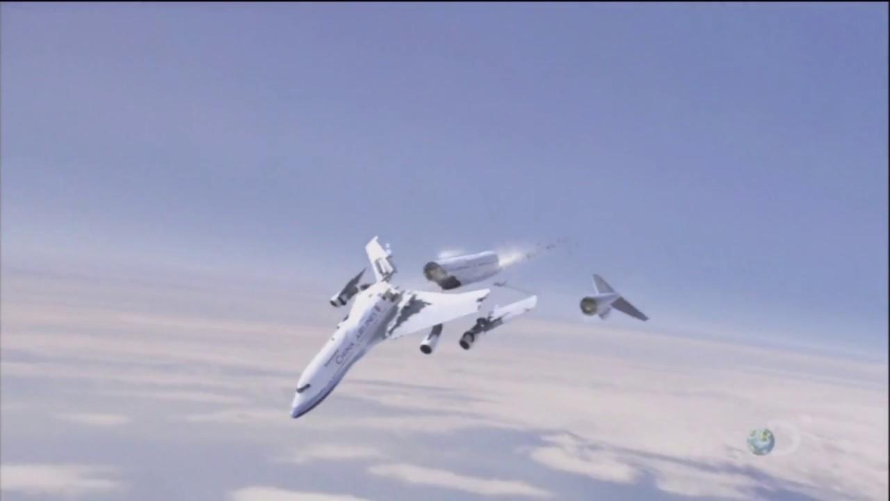 China Airlines Flight 611 Crash Animation Youtube