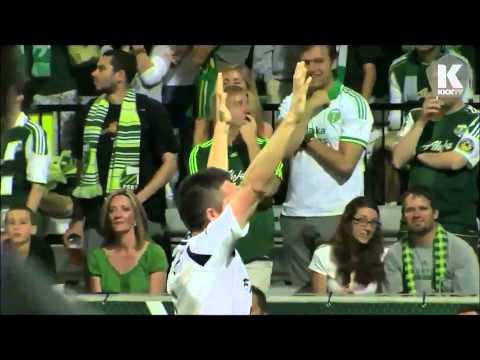 Best Robbie Keane Goal Celebration