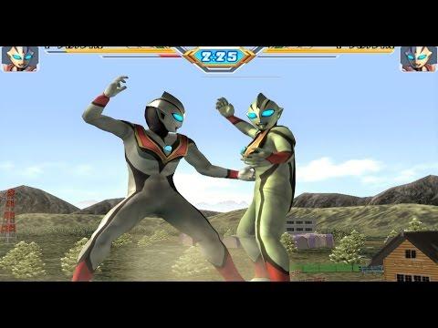 Sieu Nhan Game Play   Trận đấu ultraman theo yêu cầu 21-12 #2   Game Ultraman fingting eluvation 3