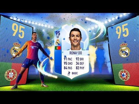 INCREDIBLE TOTGS RONALDO IN A FREE FIFA 18 PACK!! LUCKIEST FIFA 18 PACK OPENING REACTIONS!!