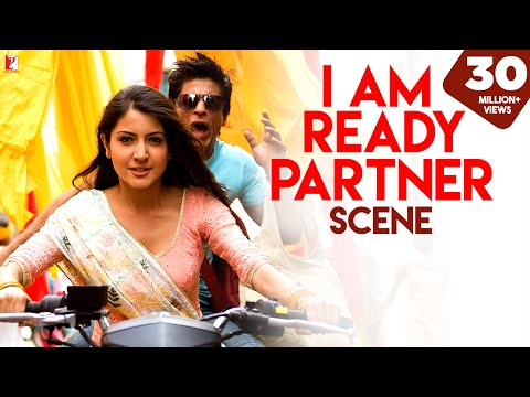 Scene:  I am ready Partner | Rab Ne Bana Di Jodi | Shah Rukh Khan | Anushka Sharma