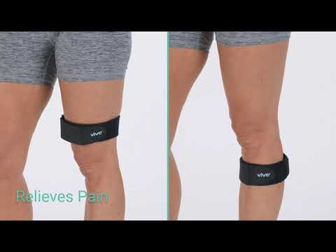 Universal It Band Strap By Vive Targeted Compression For Itbs And Knee Pain Youtube