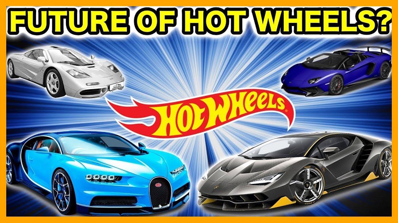 Concept Hot Wheels Cars Bugatti Mclaren Lamborghini Tesla