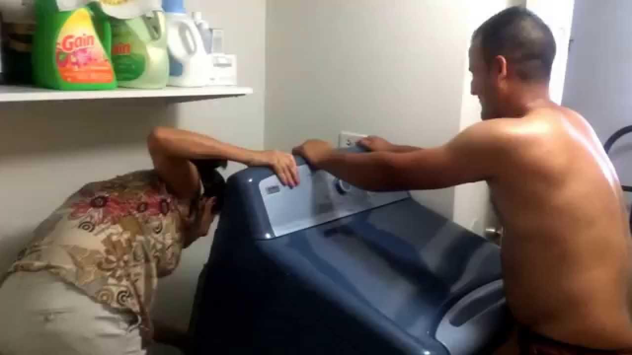 Instalaci n de lavadora y secadora de whirlpool elite - Mueble para lavadora y secadora ...