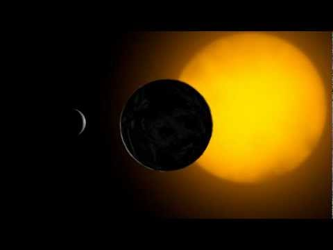 the earth moon and sun  3d model  animation  s01r07 texture from NASA