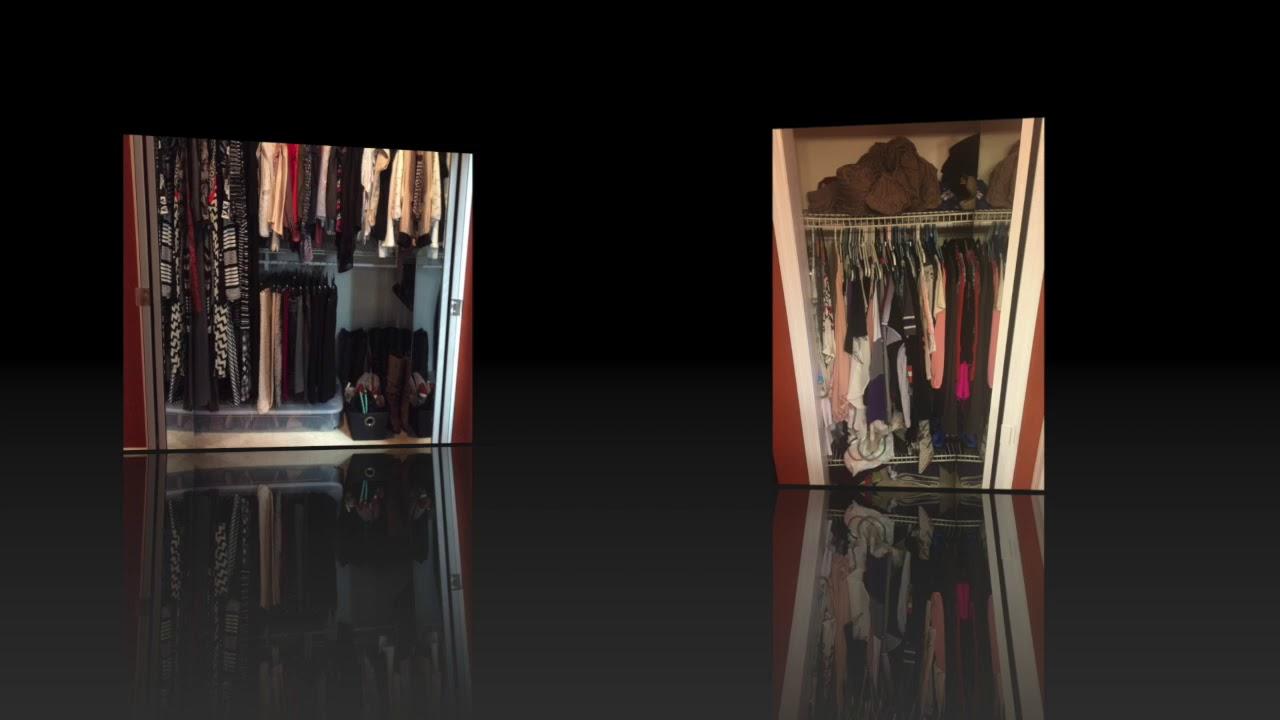 Kims Closet Makeover