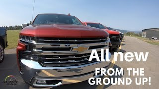 2019 Chevrolet Silverado Pickup Truck full line up