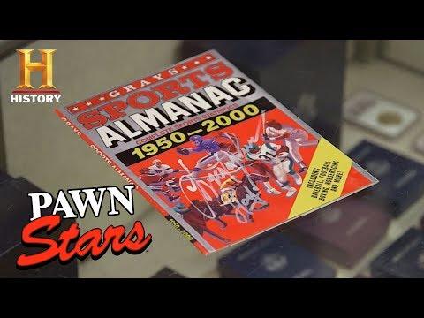 "Pawn Stars: ""Back to the Future II"" Sports Almanac (Season 15) | History"