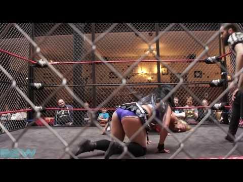 FREE MATCH Jewells Malone vs Leonardo Darwin (Steel Cage I Quit Match)