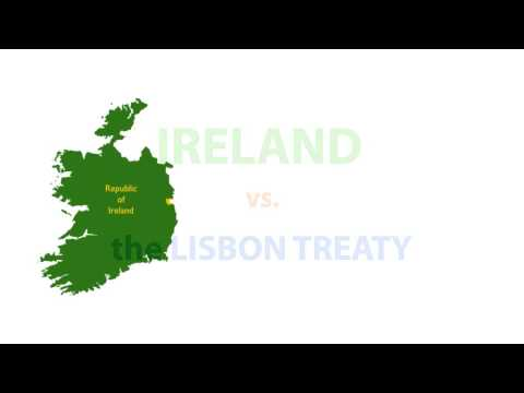 Ireland vs. the Lisbon Treaty (EU)