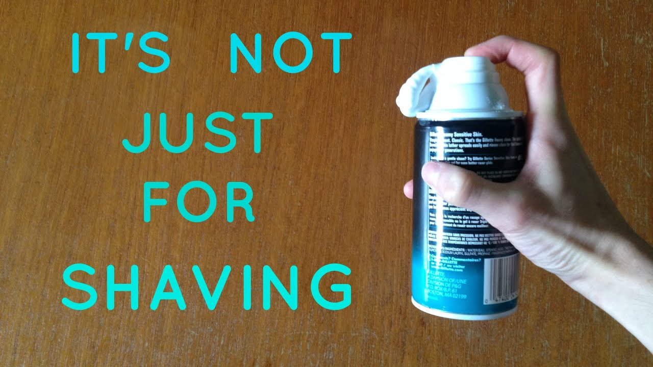 4 Awesome Things You Can Do With Shaving Cream  YouTube