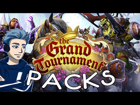 Hearthstone: The Grand Tournament Pack Opening!