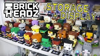 How I Store my BrickHeadz Collection & Display Them