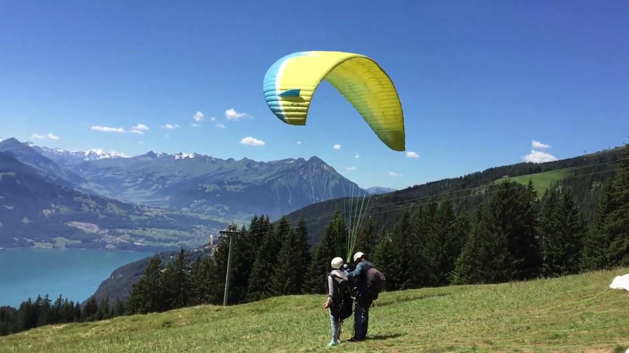 Epic Paragliding Takeoff Compilation =)