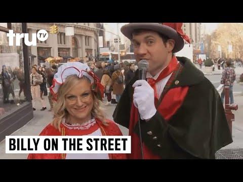Billy on the Street  Christmas Carol Ambush with Amy Poehler