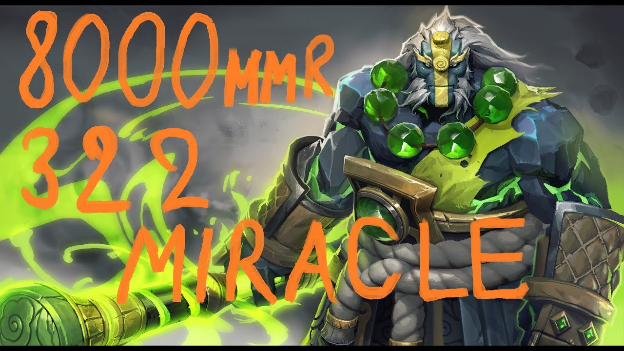 Miracle 322 Earth Spirit Gameplay 8000 MMR Dead Ranked