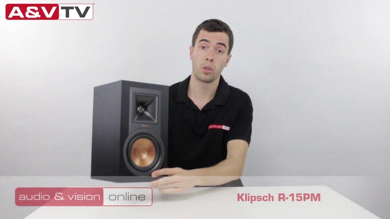 Klipsch R-15PM aktív hangfal teszt AV-Online - YouTube