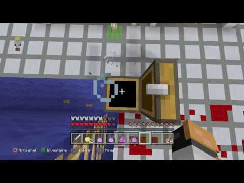 HUNGER GAMES #1 LA CARTE DE LA MORT | Minecraft Ps4 FR