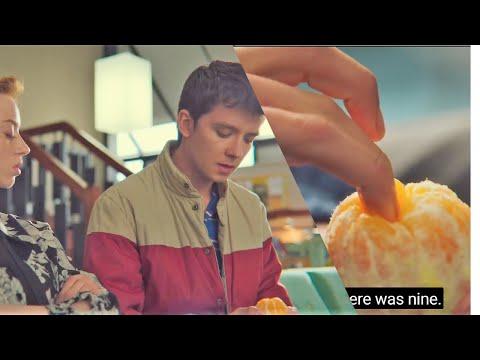 Sex Education Season 2- Otis Explaining His Fingering Technique Using A Orange  Funny Scene