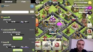 Clash Of Clans TUTO Comment avoir 2 sorts noir dans sont cdc (Chateau des Clans)