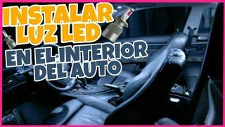 COMO INSTALAR LUZ LED EN EL INTERIOR DEL AUTO / JETTA MK3