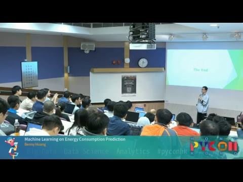 PyCon HK 2017 - Machine Learning on Energy Consumption Prediction