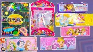 Disney Princess Pencil Box and Magic paper