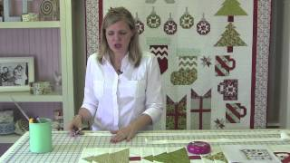 Deck-ade The Halls With Fat Quarter Shop - Finishing Pattern