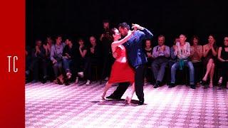 Tango: Laura D'Anna y Sebastián Acosta, 7/12/2017, Patio de Tango 3/4