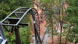 Time Traveler Spinning Coaster at Silver Dollar City CONSTRUCTION Update and Analysis