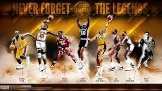 """NBA - Mix """"Hall of Fame""""-2017"""