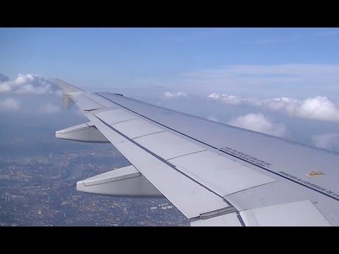 *FULL FLIGHT* Air France AF1080 - A319 F-GRHL - CDG to Heathrow - 15th August 2015