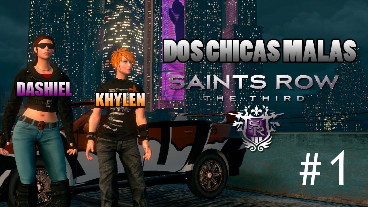Download Dos Chicas Malas en Saints Row 3 - #01 - Coop. Dashiel & Khylen