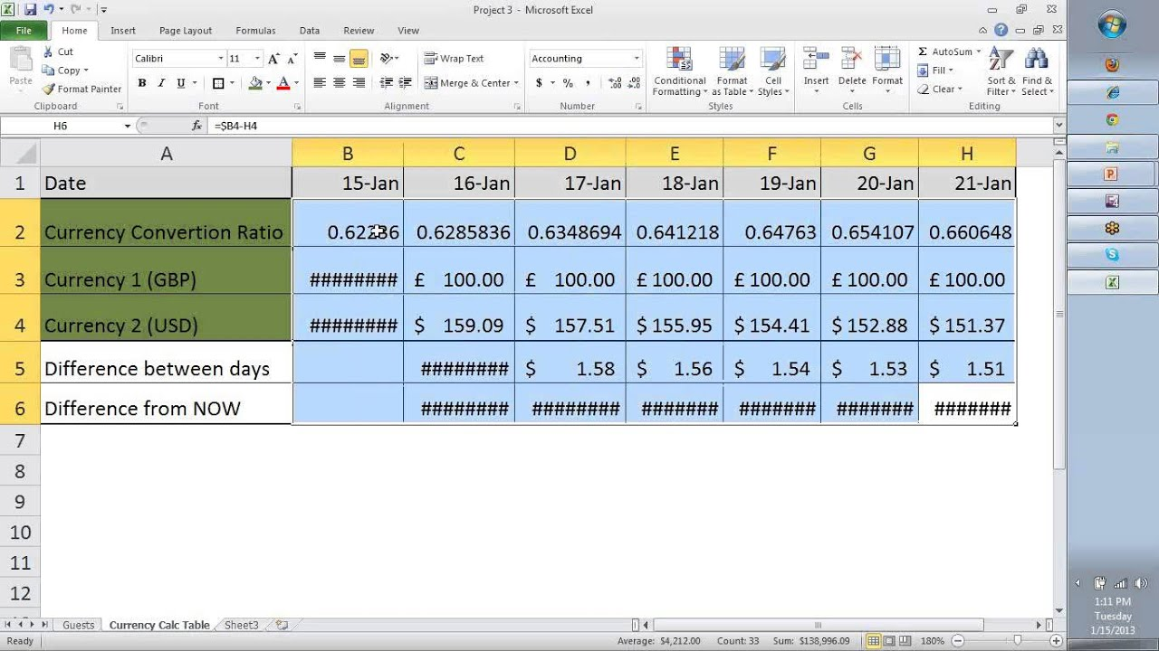 Ms Excel Tutorial For Beginners Day 03 Ms Excel Templates
