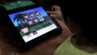 "iPad for Kids - ""Monkey Preschool Lunchbox"" - Part 2"