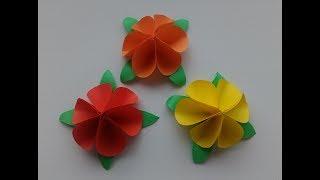Цветы из бумаги Оригами / Origami flowers