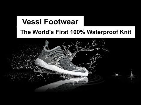 Waterproof Knit Shoes by Vessi Footwear