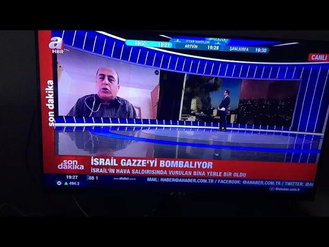 Gazze'de yıllardır irtibat kurduğumuz cemaati İslamiye'nin dış ilişkiler Sorumlusu kardeşimiz