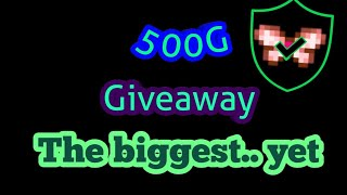 500G Giveaway // How to Enter // Mirage Realms MMORPG