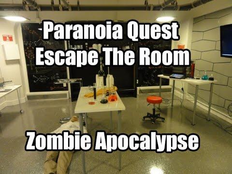 Paranoia Quest Escape The Room Atlanta Zombie Apocalypse - YouTube