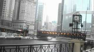 Walking Along the Chicago River