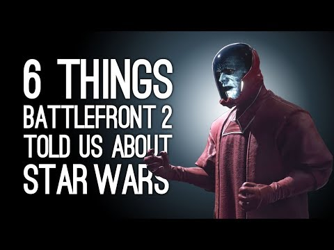 Battlefront 2: 6 Things About Star Wars We Learned Playing Battlefront 2
