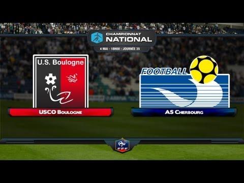 Championnat National - 35ème journée : Boulogne USCO - AS Cherbourg en live !